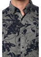 NetWork NetWork 1073913 Regular Fit Antrasit Karışık Desenli Gömlek Erkek Gömlek Antrasit